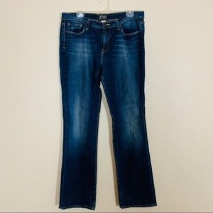 Lucky Brand |Embroidered Pocket Straight Leg Jeans